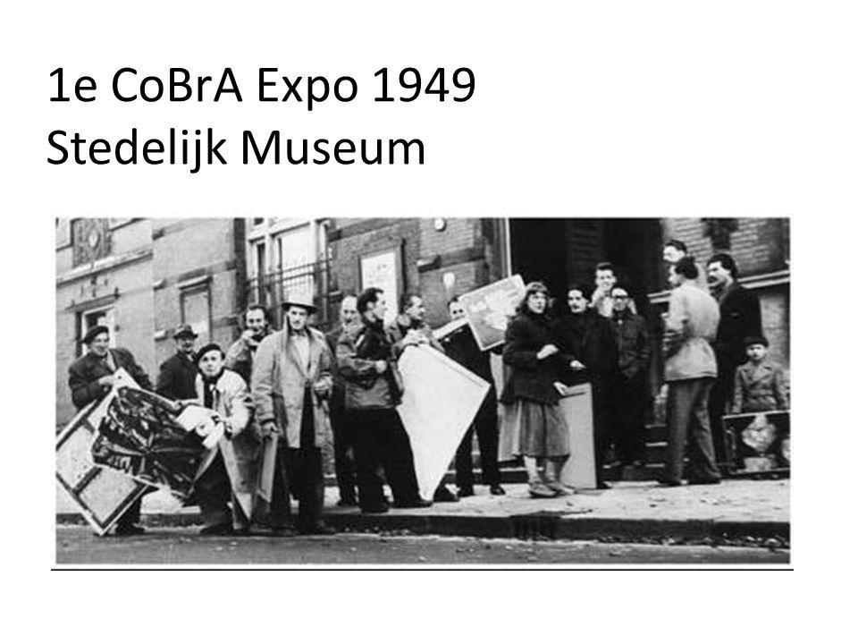 1e CoBrA Expo 1949 Stedelijk Museum
