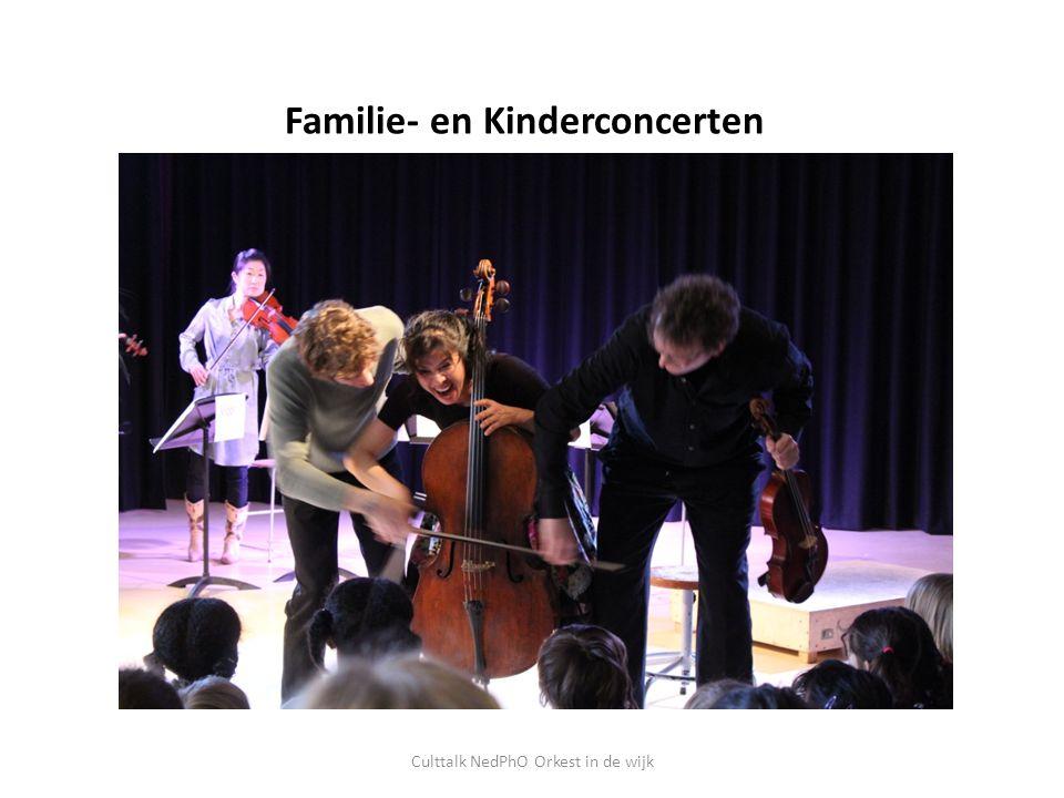 Familie- en Kinderconcerten Culttalk NedPhO Orkest in de wijk