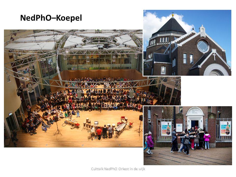 NedPhO–Koepel Culttalk NedPhO Orkest in de wijk
