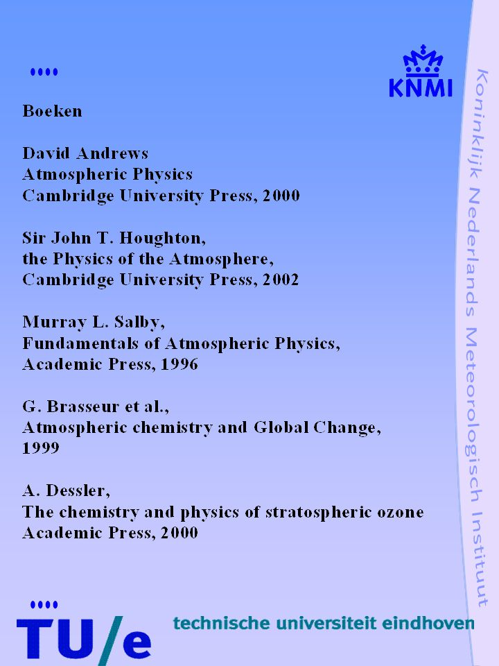 Broeikaseffect op Venus en Mars Rekening houdend met luchtdruk, samenstelling atmosfeer, zwaartekracht, temperatuurprofiel en terugkoppelingen kan broeikaseffect bepaald worden: Venus:  500 K opp.temp= 733 K Mars:  3 K opp.temp= 218 K Ter vergelijking: Aarde:  33 K opp.temp= 288 K