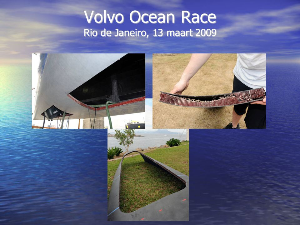 Volvo Ocean Race Rio de Janeiro, 13 maart 2009