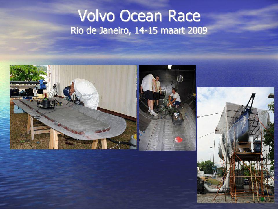 Volvo Ocean Race Rio de Janeiro, 14-15 maart 2009