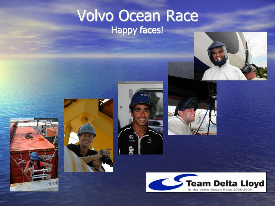Volvo Ocean Race Happy faces!