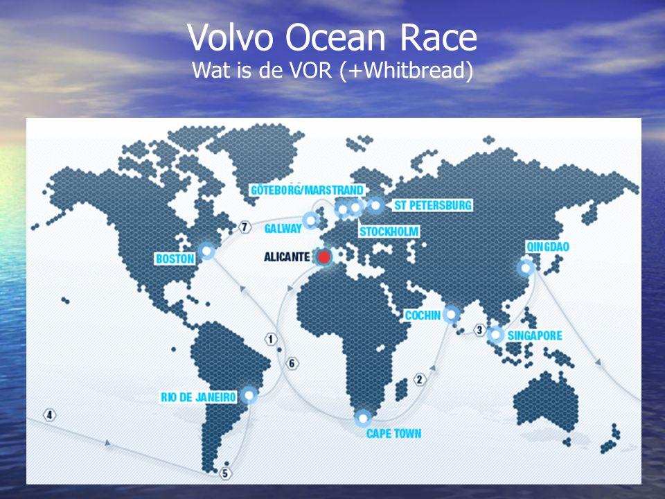 10 Etappes: Alicante – Kaapstad – Cochin – Singapore – Qingdao - Rio de Janeiro – Boston – Galway – Marstrand – Stockholm - St.
