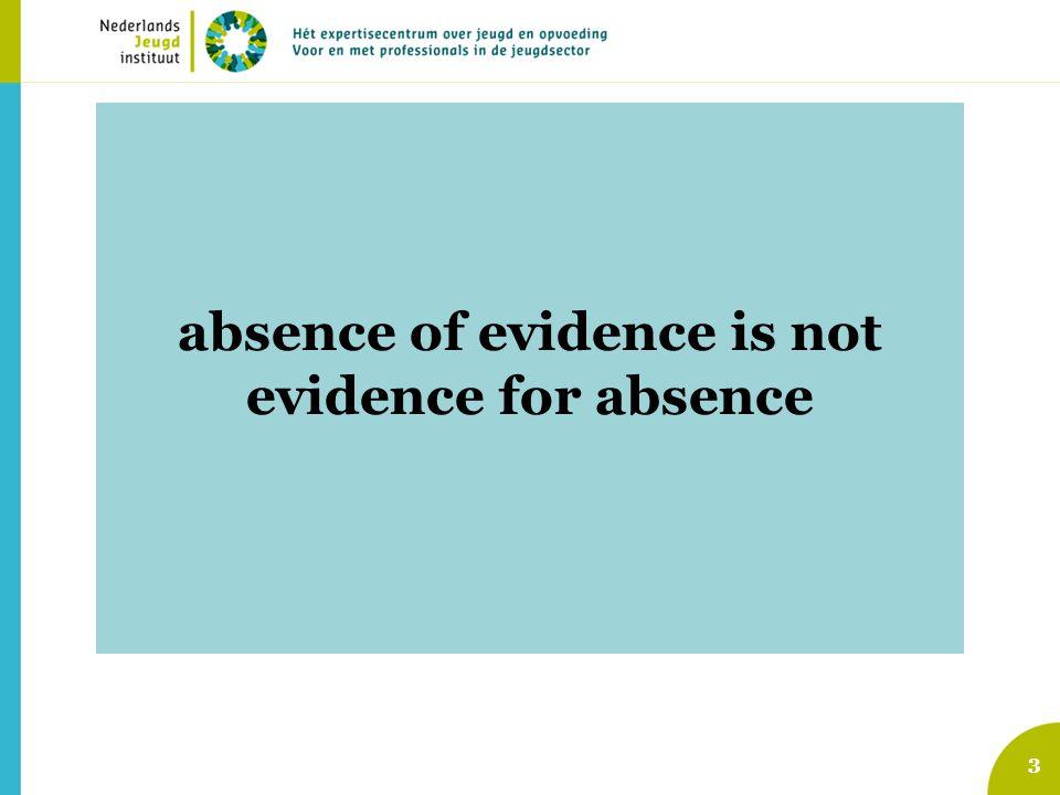 3 Traditioneel effectonderzoek Vanuit medisch / farmacologisch model Controlegroep: –niets / gebruikelijke zorg / andere interventie Voor- en nameting