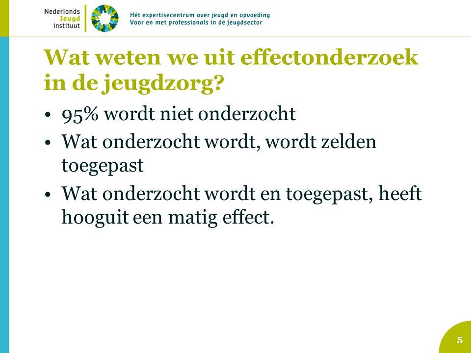 Conclusie We gaan naar een nieuw jeugdbeleid Dat beleid vraagt om meer positieve invulling, met aandacht voor gewone opvoeden en opgroeien We hebben monitoring en PI nodig om iets over de doelmatigheid van dat beleid te zeggen Rotterdam kan dat.