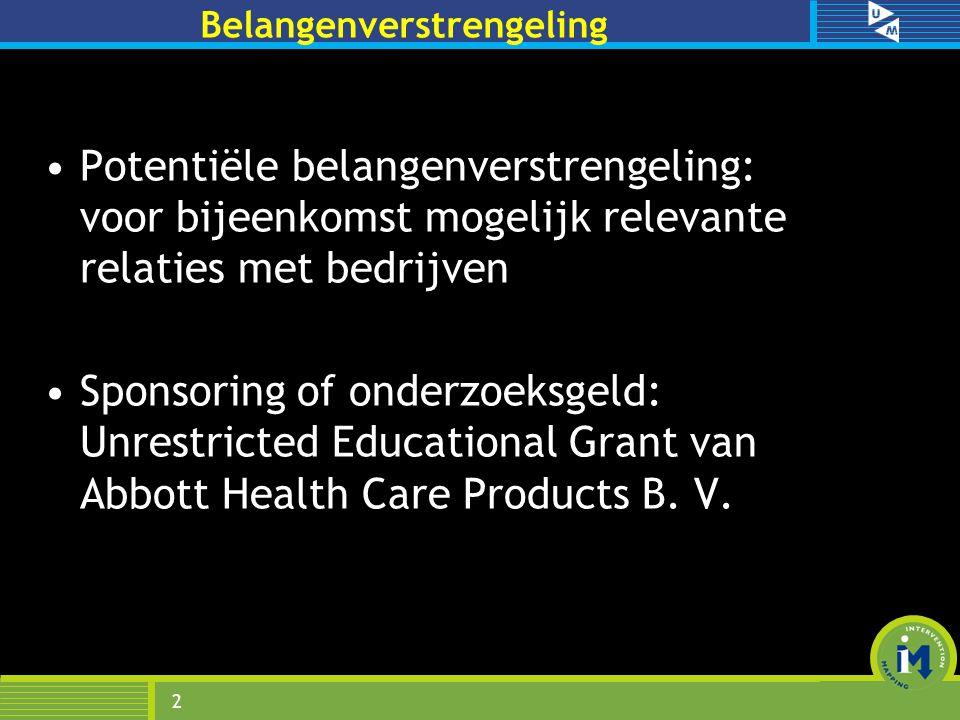 Presentatie Onderzoek Marloes Bults Trends Verschillen Determinanten Dreiging Aanbevelingen Planmatige interventieontwikkeling Conclusies 3