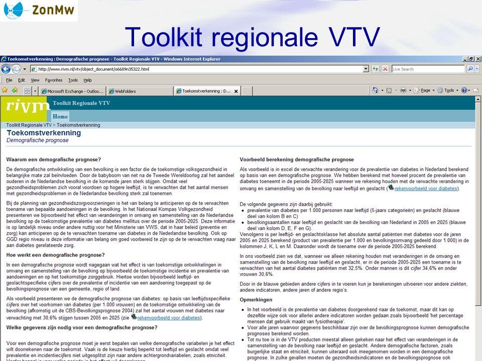 Toolkit regionale VTV