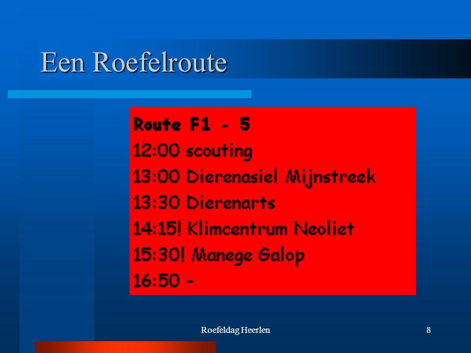 Roefeldag Heerlen8 Een Roefelroute