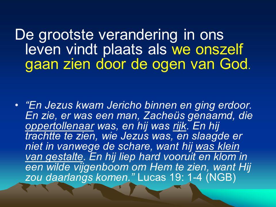 1.HET DOET ER NIET TOE HOE ONBELANGRIJK IK MEZELF VIND, Jezus ziet me.