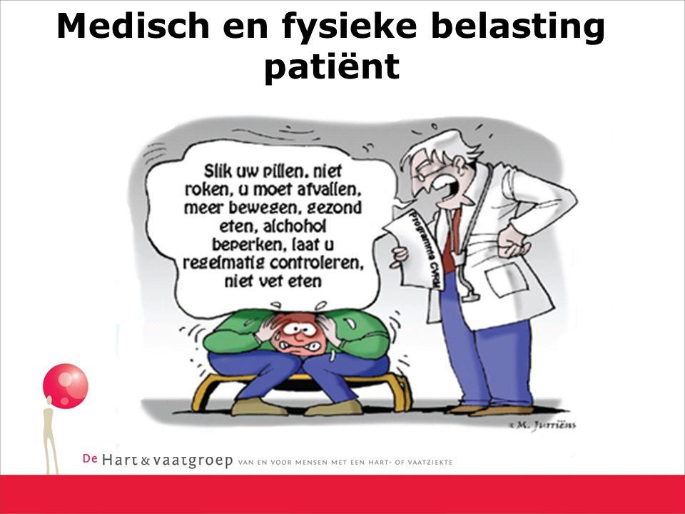 Medisch en fysieke belasting patiënt