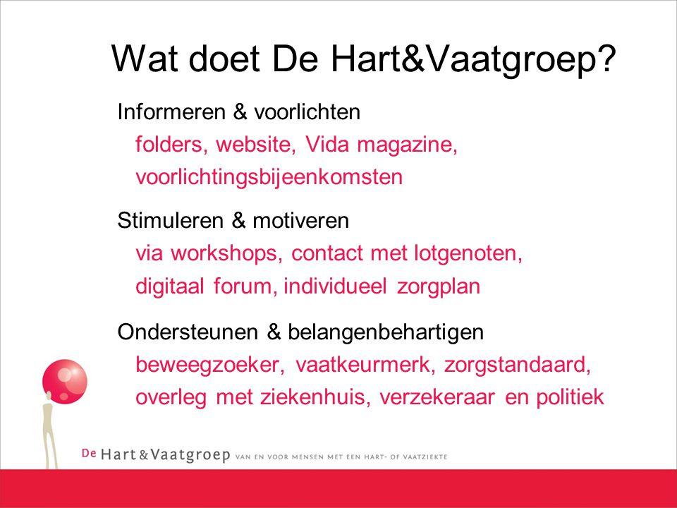Wat doet De Hart&Vaatgroep.