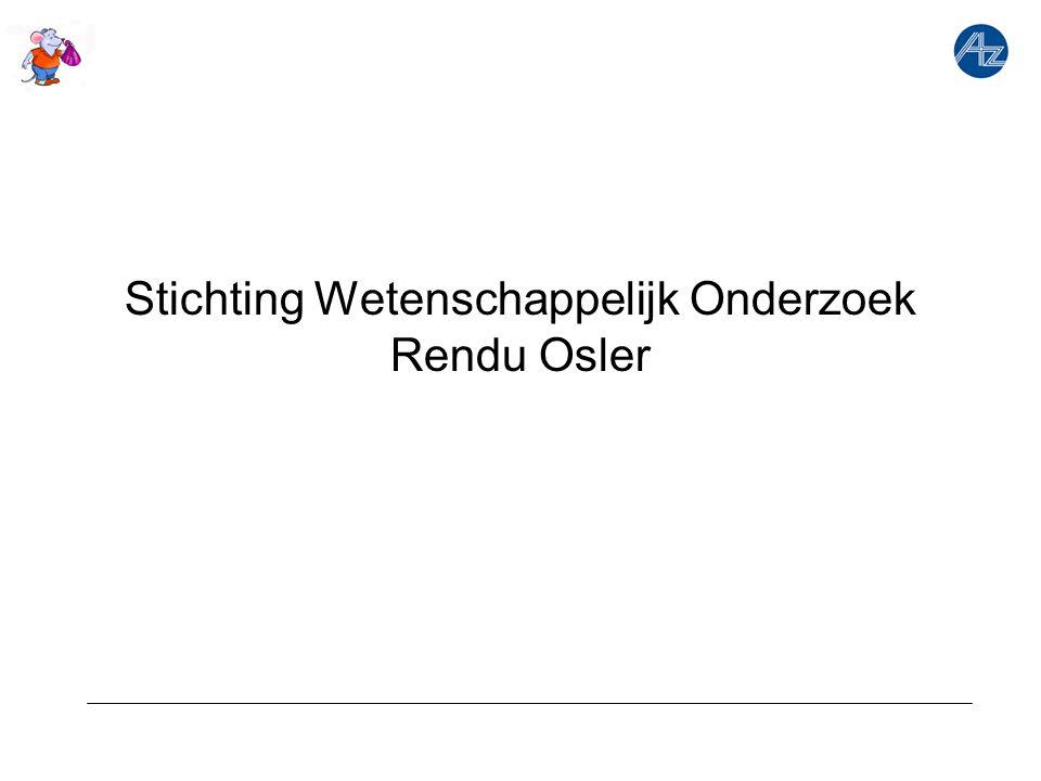 Stichting Wetenschappelijk Onderzoek Rendu Osler