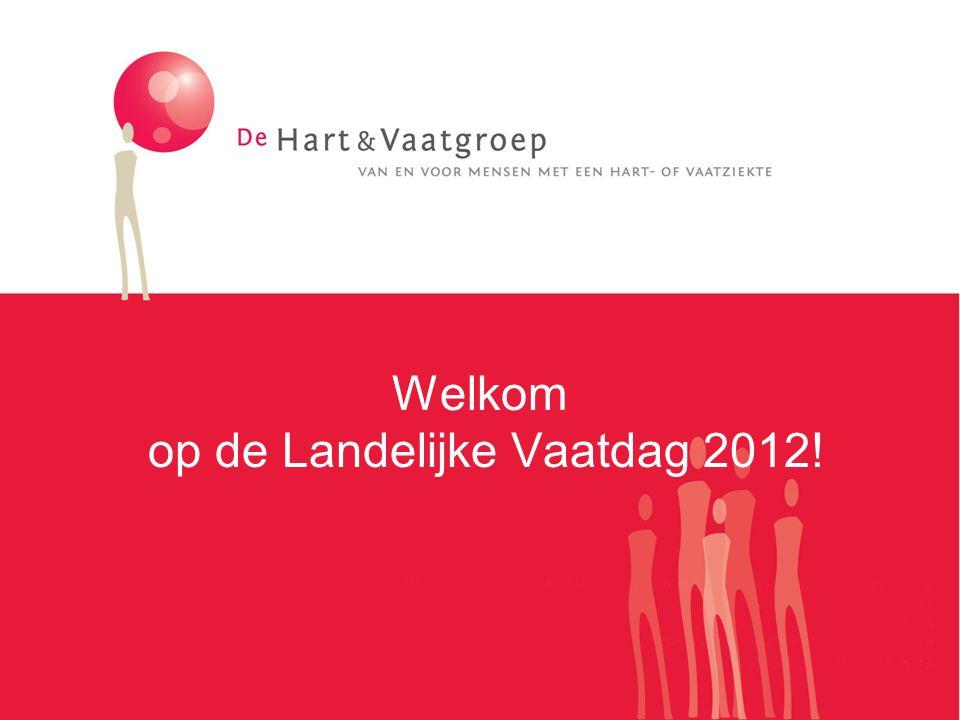Welkom op de Landelijke Vaatdag 2012!