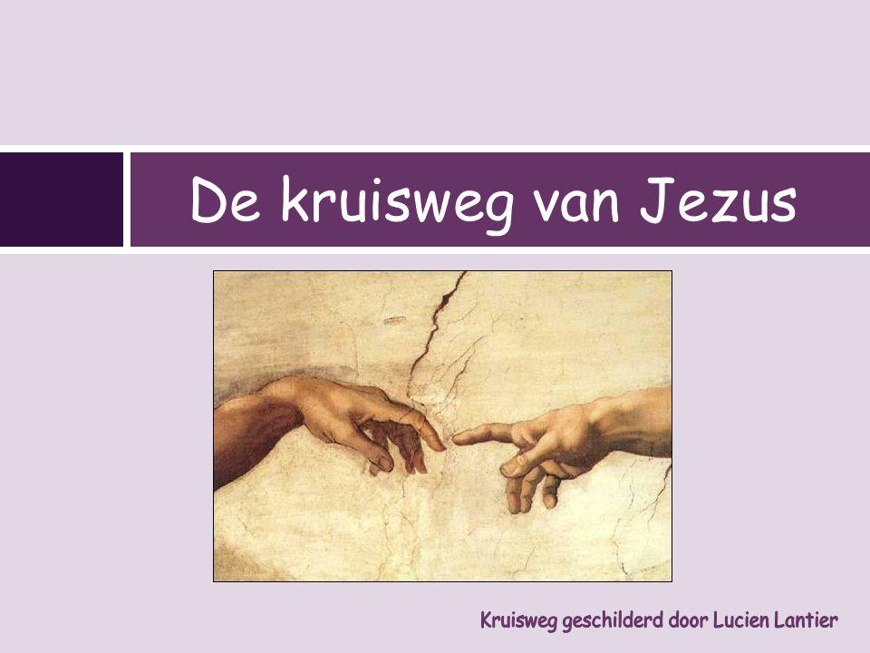 De kruisweg van Jezus