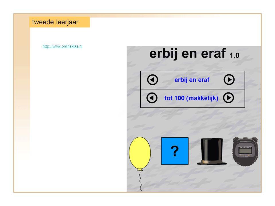 http://www.onlineklas.nl tweede leerjaar