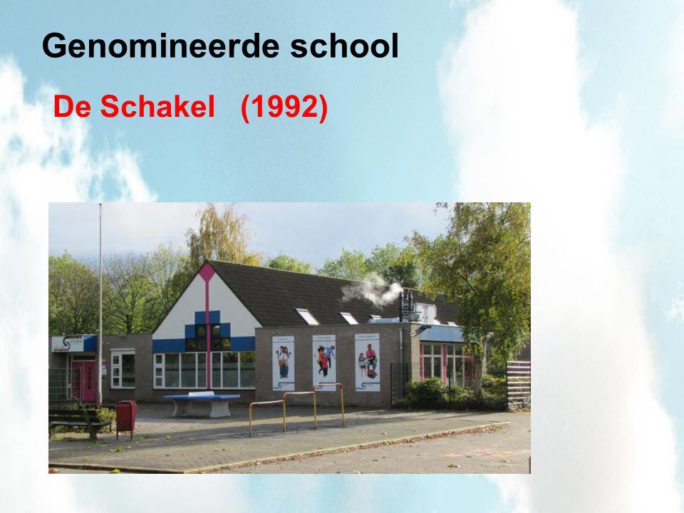 De Schakel Vignet Gezonde School Thema-certificaten: (binnen) Milieu Voeding en Mondgezondheid Sociaal-emotionele ontwikkeling