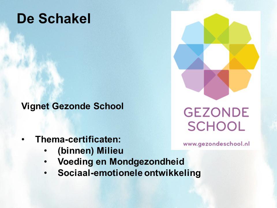 De Schakel Heeft gebruik gemaakt van de Regeling verbetering binnenklimaat huisvesting primair onderwijs 2009