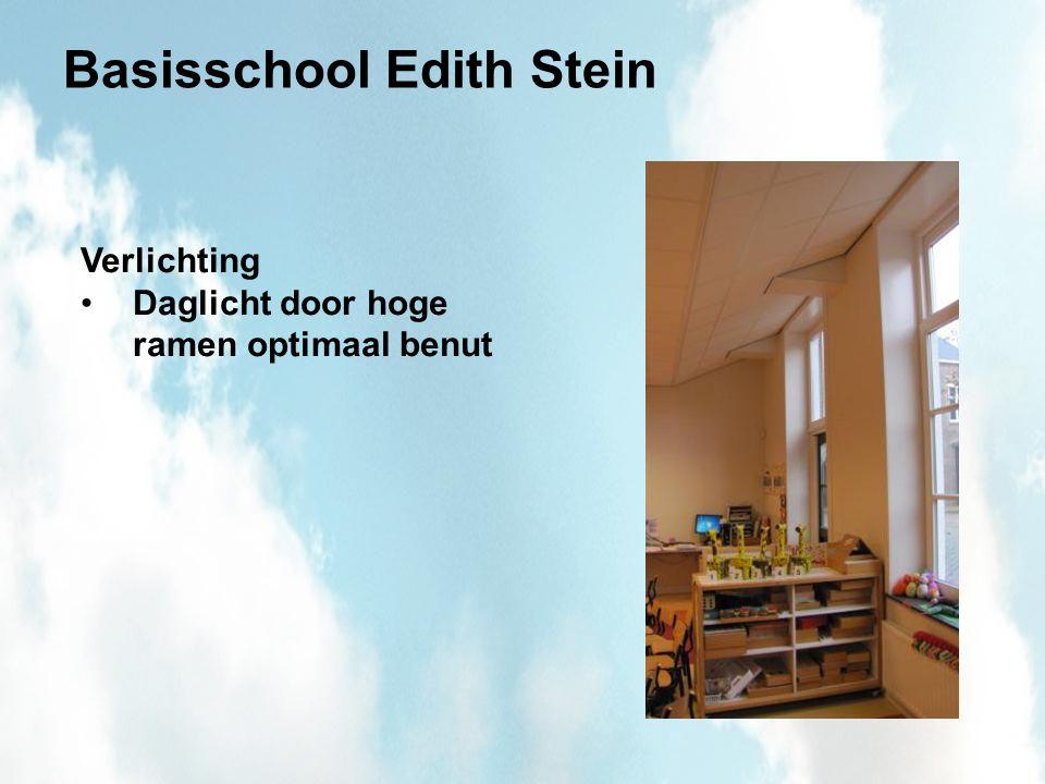 Basisschool Edith Stein Verlichting Daglicht door hoge ramen optimaal benut