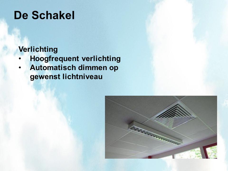 De Schakel Verlichting Hoogfrequent verlichting Automatisch dimmen op gewenst lichtniveau