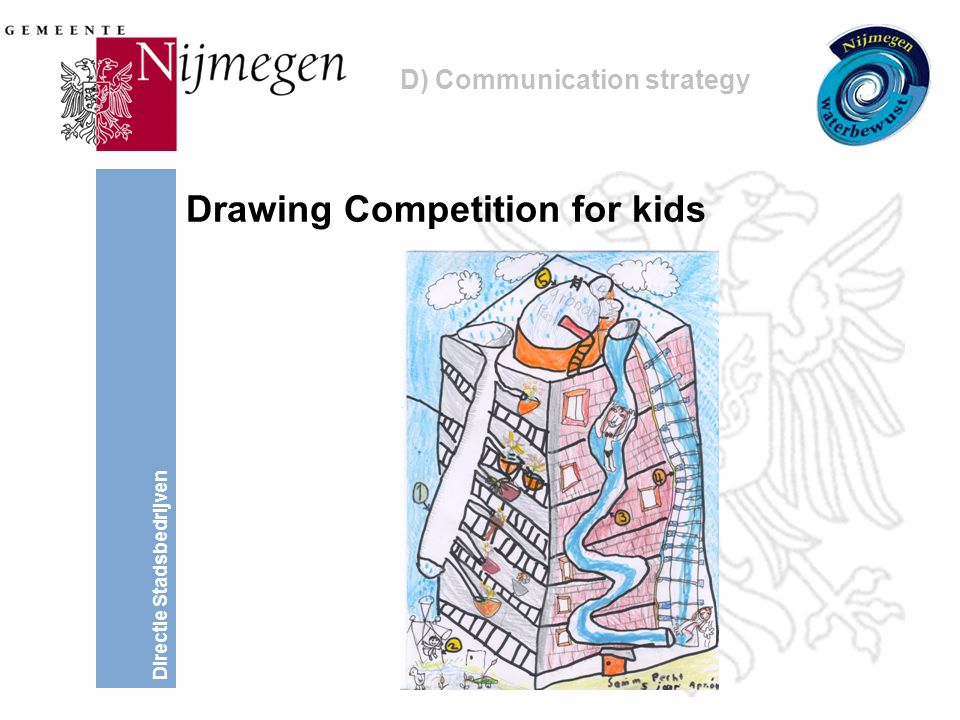 Directie Stadsbedrijven Drawing Competition for kids D) Communication strategy