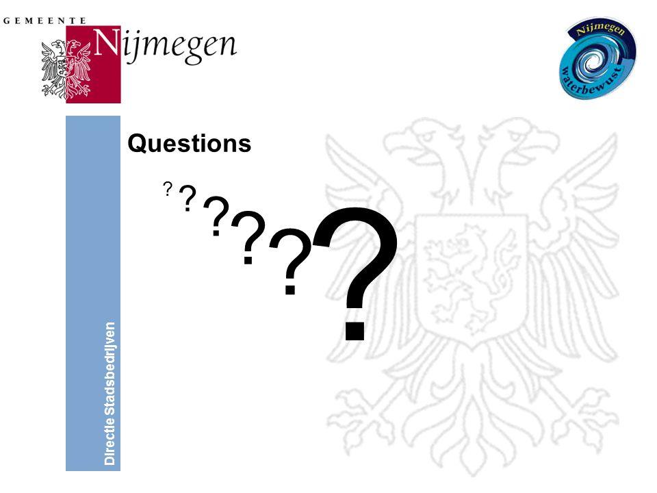 Directie Stadsbedrijven Questions