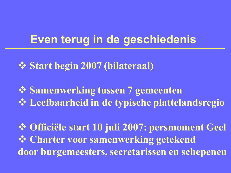 Zeven gemeenten: 117.000 inwoners Vorselaar Lille Kasterlee Retie Geel Meerhout Balen
