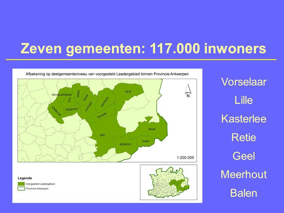 Ontwikkelingsplan en goedkeuring  Ontwikkelingsplan  Intensief proces van  Tussen gemeenten  Binnen gemeenten  Met tientallen actoren  Denkcel (1), stuurgroep (7) en werkgroepen 7 x 7 personen (lokaal) + 15 actoren (regionaal)  Op zoek naar regionale visie