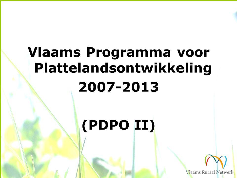 Vlaams Programma voor Plattelandsontwikkeling 2007-2013 (PDPO II)