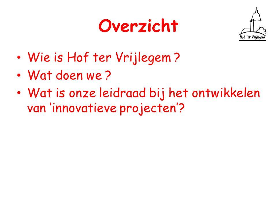 Dank voor Uw aandacht www.hoftervrijlegem.be