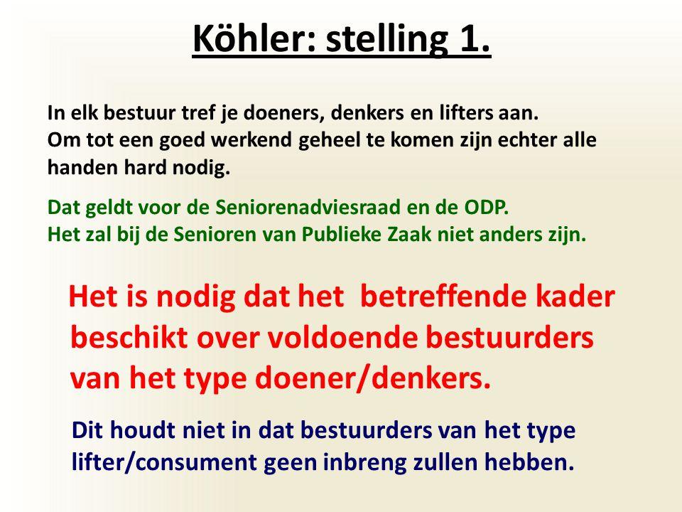 Köhler stelling 2.