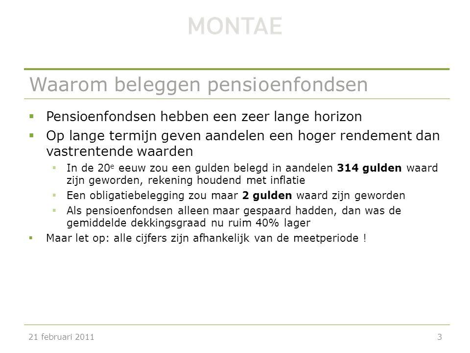 Onderzoek GfK Panel Services en Montae  Jaarlijks pensioenonderzoek (pensioenbarometer)  Onder werknemers en werkgevers  Pensioenbarometer 2011 verschijnt volgende week  Een aantal conclusies 21 februari 201114