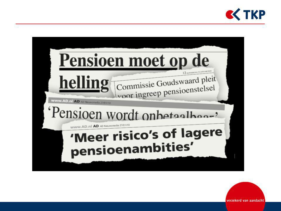 Rapporten cie's Frijns en Goudswaard Aanleiding: financiële crisis en gevolgen voor pensioenfondsen Brief Donner 25 mei 2009: brede aanpak pensioenvraagstukken rapport cie Frijns (beleggingsbeleid) rapport cie.