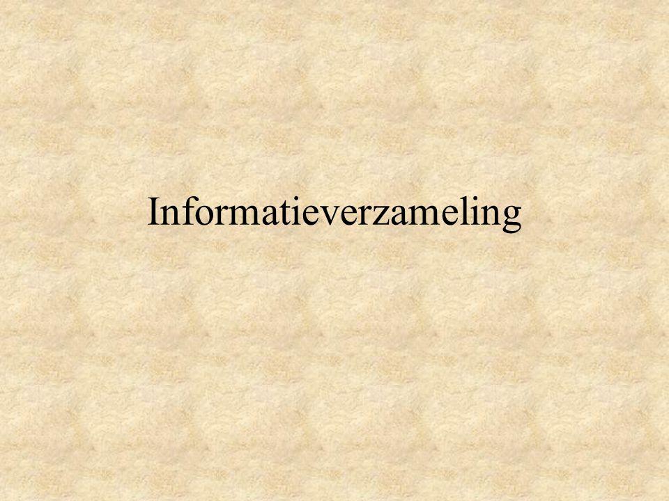 Informatieverzameling