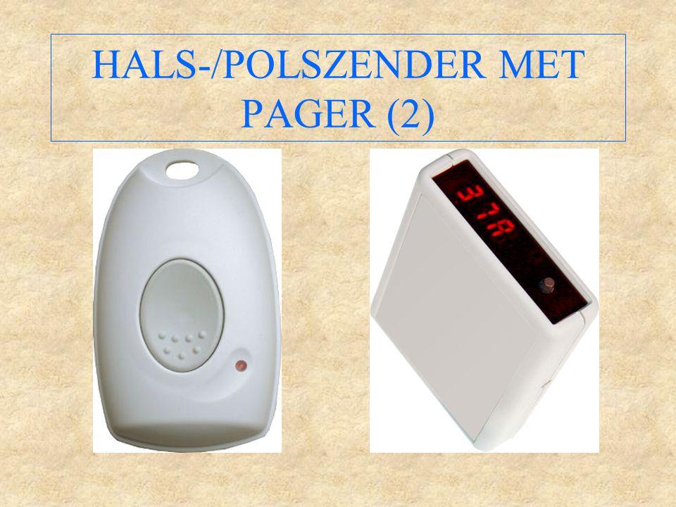 HALS-/POLSZENDER MET PAGER (2)