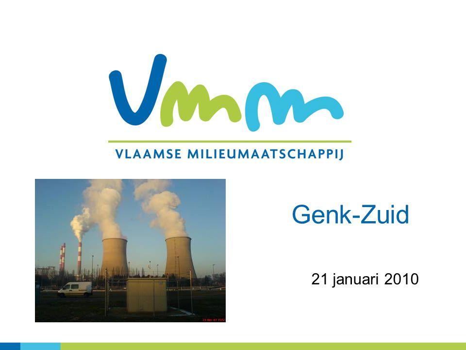 2 Topics Genk – Zuid Zware Metalen in de omgevingslucht januari - september 2009 Studie-onderzoek: Cr VI