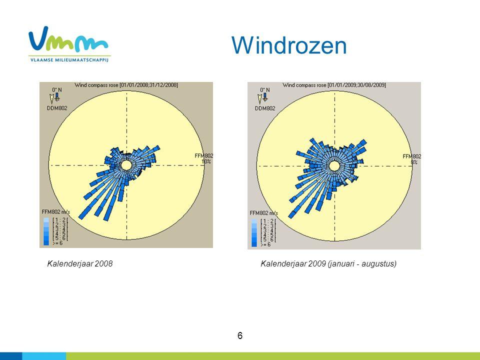 27 Meetprogramma VMM 2009-2010 00GK1101 ligt op de speelplaats van de basisschool de Sleutel.