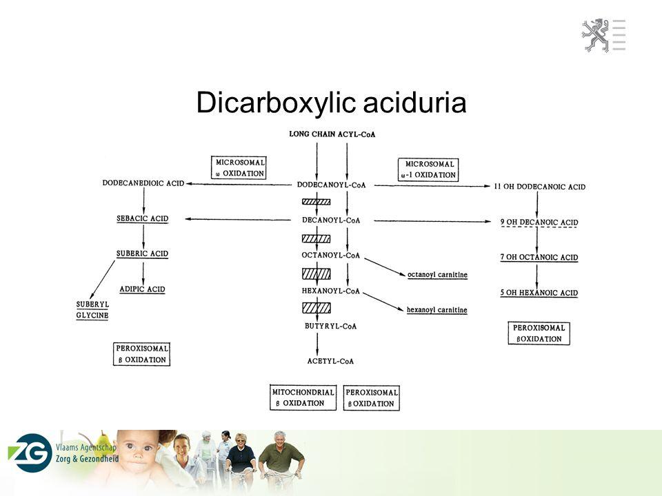 QA scheme organic acidurias ERNDIM 67 % of GC-MS users missed the diagnosis of MCAD deficiency (urine, stable condition) 100% of GC users missed that diagnosis