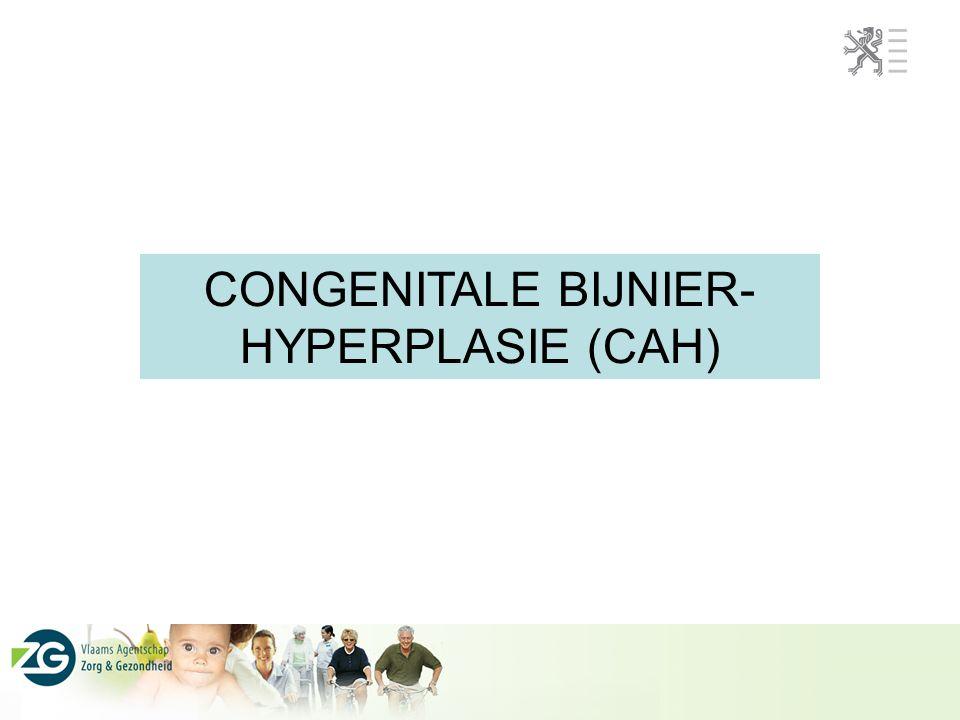 CONGENITALE BIJNIER- HYPERPLASIE (CAH)