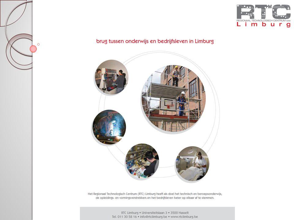 RTC Presenteert Welkomstwoord – Guido Bijnens, voorzitter RTC Limburg 2010-2011 – een overgangsjaar Aanbod najaar 2010 Beurs en netwerkmoment