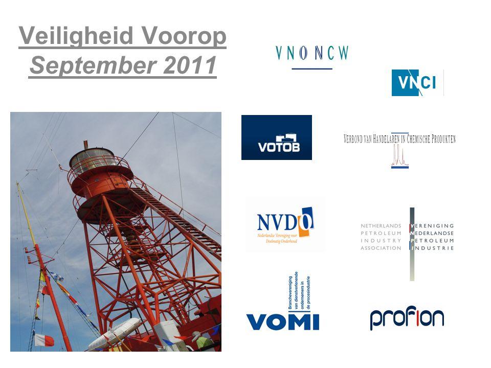 september '14 Veiligheid Voorop rapportage 2012 22 Voor wie is het actieplan bedoeld.