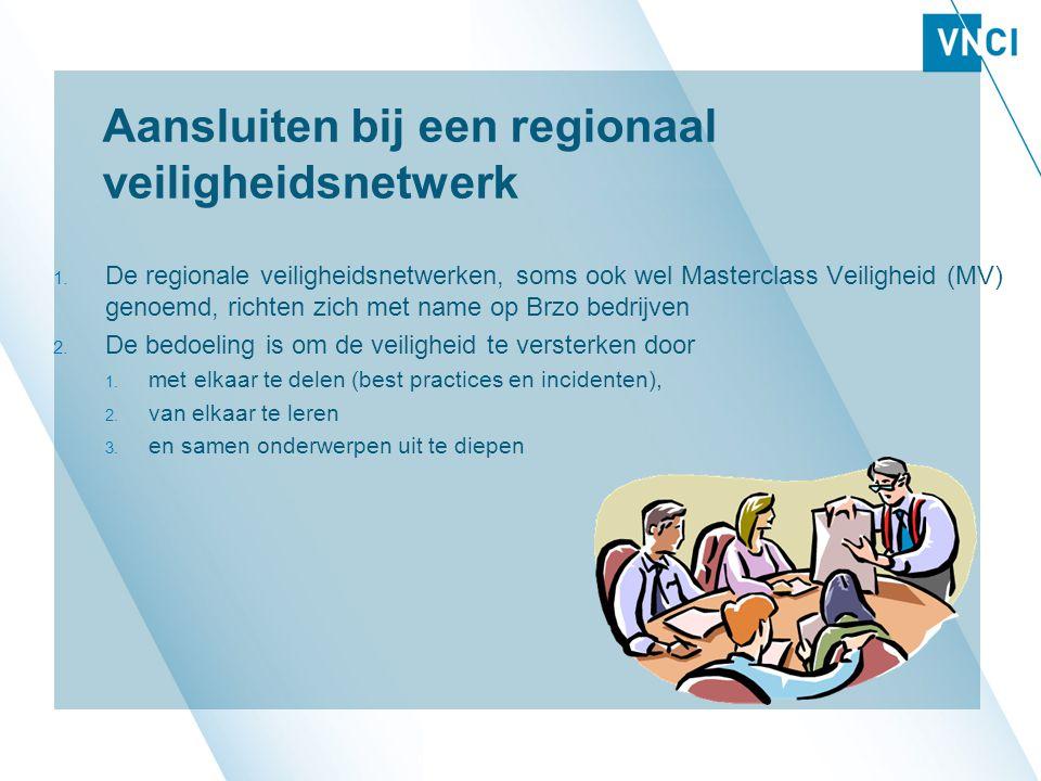 Aansluiten bij een regionaal veiligheidsnetwerk 1.