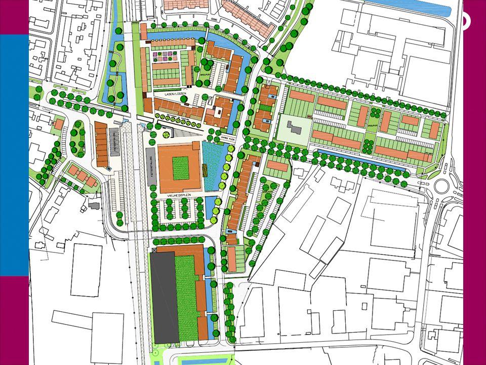 Grondexploitatie Elst Centraal 2010 Kosten Verwerving 5,2€ Bouw/woonrijp 9,8€ Bedrijven 1,0€ Plankosten 3,0€ Bijdrage P&R 0,5€ Tijd.