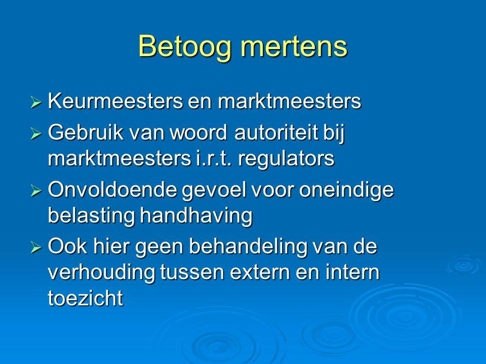 Betoog mertens  Keurmeesters en marktmeesters  Gebruik van woord autoriteit bij marktmeesters i.r.t.