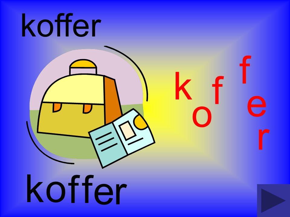 k k koffer e o ff r o f f r e