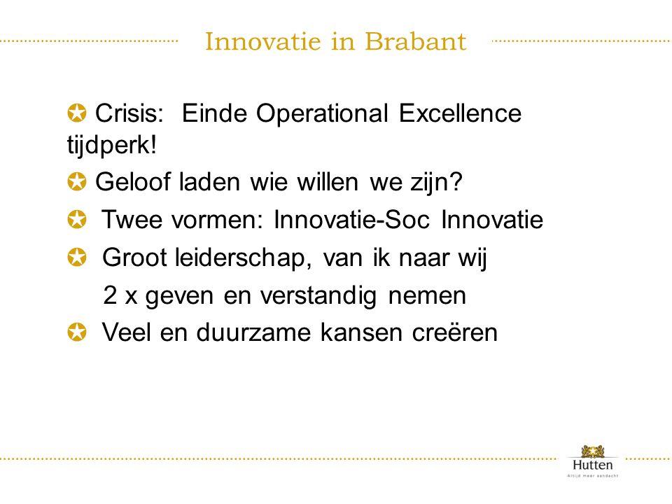 ✪ Crisis: Einde Operational Excellence tijdperk.✪ Geloof laden wie willen we zijn.