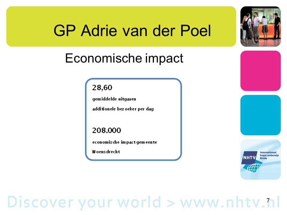 GP Adrie van der Poel Economische impact 7