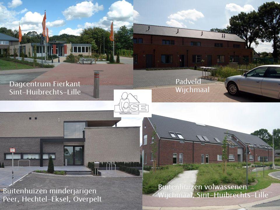 Begeleidingscentrum Sint-Elisabeth, Wijchmaal (Peer) Dagcentrum Fierkant Sint-Huibrechts-Lille Padveld Wijchmaal Buitenhuizen volwassenen Wijchmaal, S