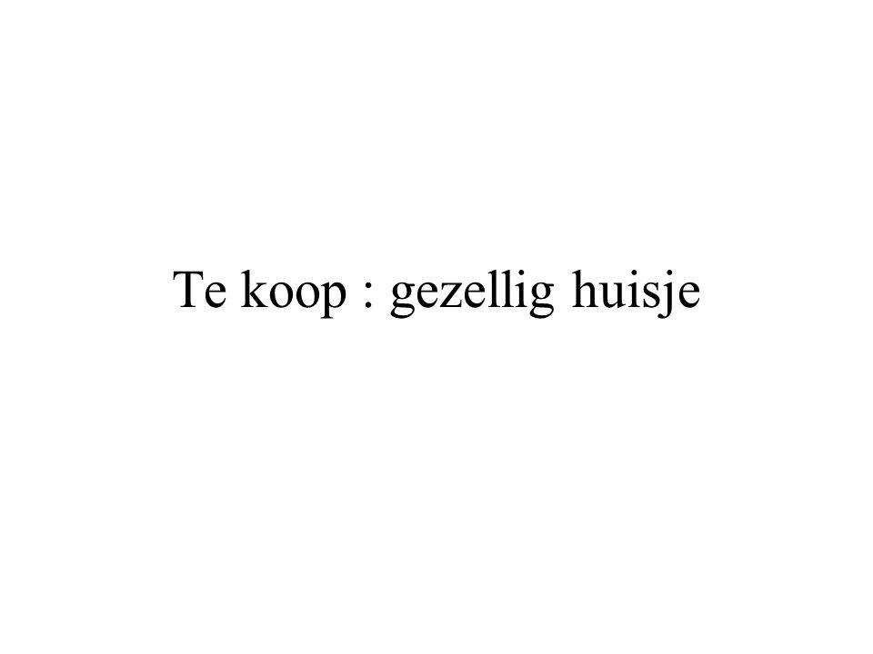 Genoeg plaats ….