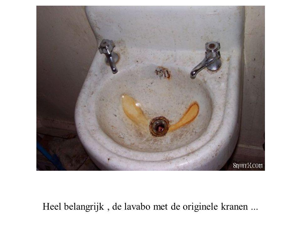 Volgend bezoek is niet te vergeten de badkamer...